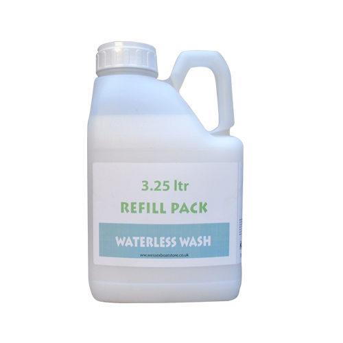 Waterless wash refill
